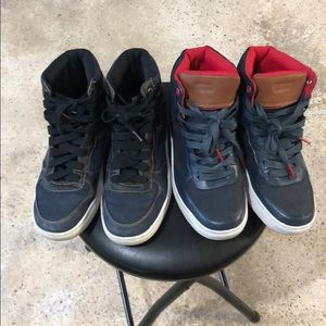 2 Pairs Levi's High Cut Sneakers